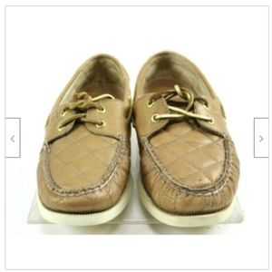 Sperry Shoes - Sperry Top Sider 2 Eye Womens Boat Shoes Size 7